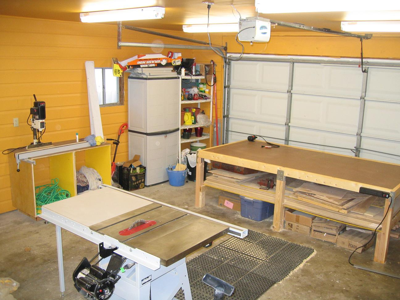 Обустройство гаража 56